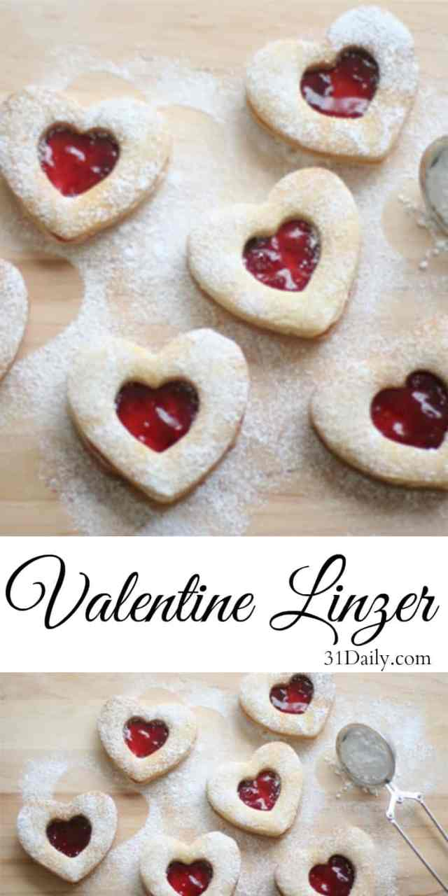 Valentine Linzer Cookies   31Daily.com