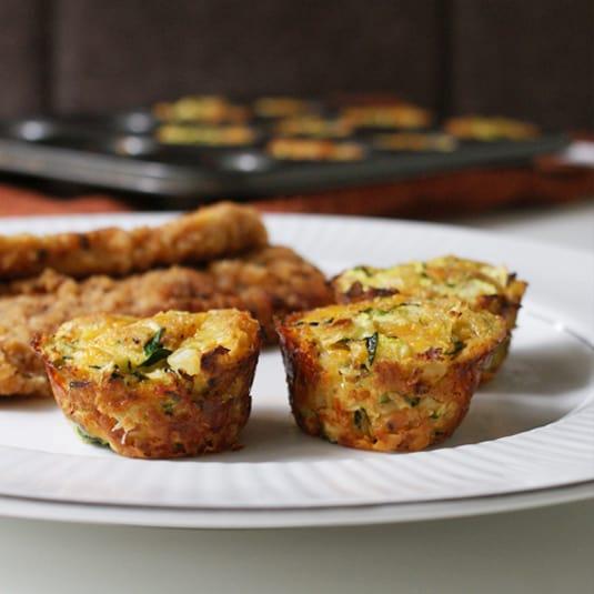 Healthy Choice Zucchini Tots Snack Recipe | 31Daily.com