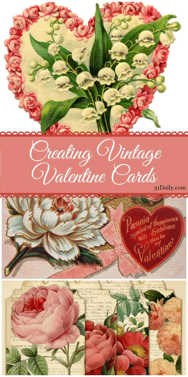 A Vintage Diy Papercraft: Victorian Valentine's Day Cards | 31Daily.com