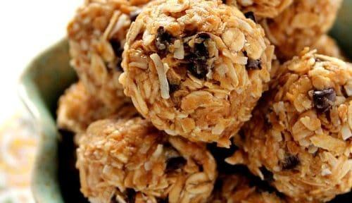 #1 Pin: Peanut Butter Energy Bites