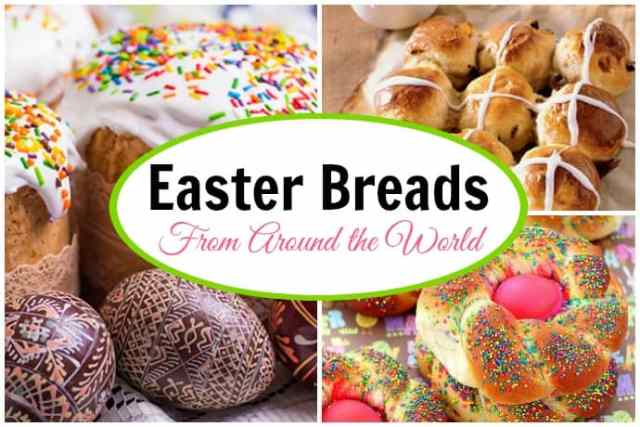 7 Favorite Easter Bread Recipes from Around the World