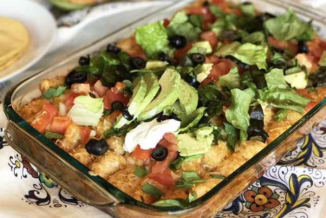 A Tuesday Idea: Mexican Taco Tater Tot Casserole