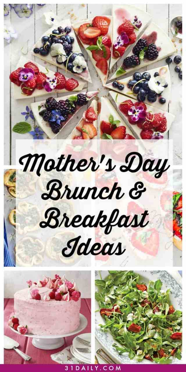 Mother's Day Breakfast and Brunch Recipes for a Special Lady | 31Daily.com