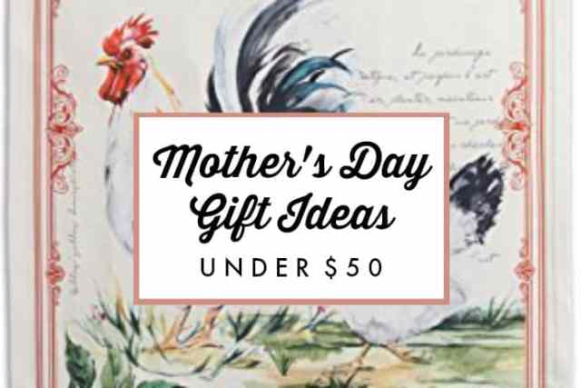 17 Mother's Day Gift Ideas under $50