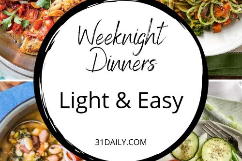 What to Cook (Dec 2-6): Light and Easy Dinners - 31 Daily