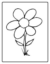 Flower Coloring Pages | Coloring Pages To Print