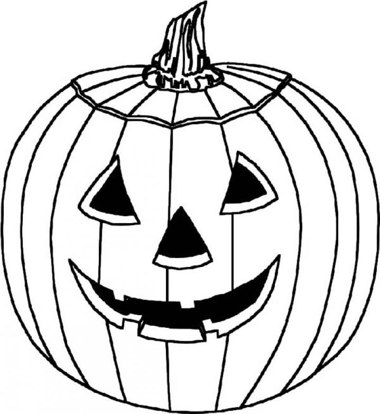hello kitty skeleton and pumpkin halloween coloring page