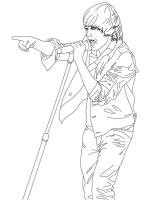 Justin Bieber Coloring Pages 2   Coloring Pages To Print