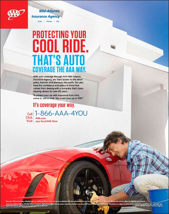Aaa Insurance Protecting Ad Series Philadelphia Collateral Trade Show Graphics 321 Creative