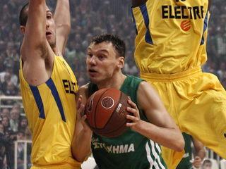 Jasikevicius va jugar la temporada passada al Panathinaikos. (Foto: EFE)