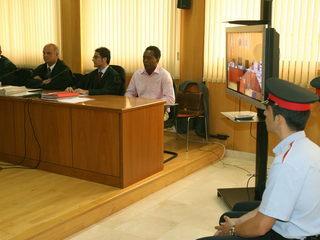Imatge de la primera sessió del judici. (Foto: EFE)