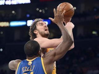 Pau Gasol ha fet 14 punts en la victòria dels Lakers. (Foto: EFE)