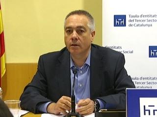Pere Navarro, a la Taula d'Entitats del Tercer Sector de Catalunya