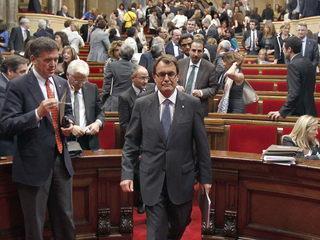El president de la Generalitat, Artur Mas (Foto: EFE)