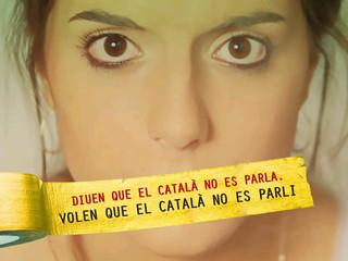 """La Plataforma denuncia que """"volen que el català no es parli""""."""