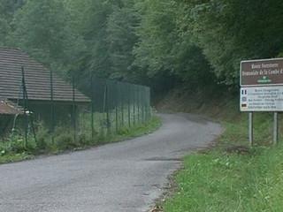 Zona on va tenir lloc el crim, als Alps francesos