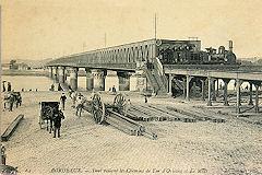 Ancienne carte Postale pont Gustave Eiffel
