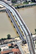 Bordeaux : ancien et nouveau pont ferroviaire