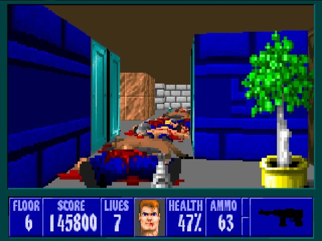 Wolfenstein 3D death