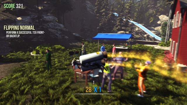 Goat Simulator jetpack