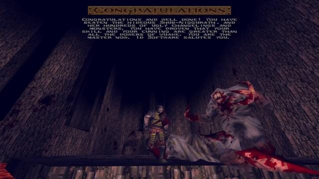 Quake winner is you