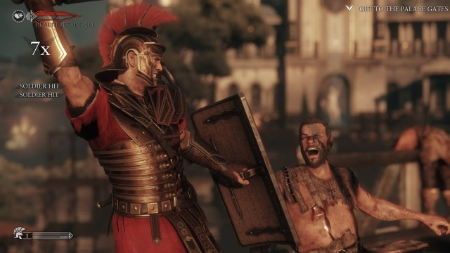 Ryse: Son of Rome fight