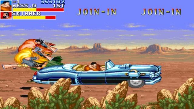Cadillacs and Dinosaurs riding