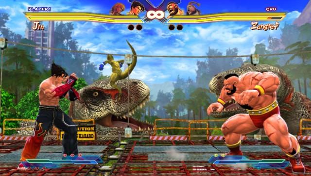 Street Fighter X Tekken fight