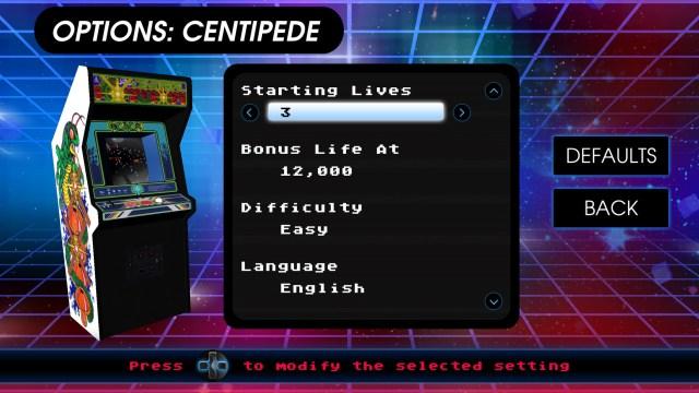 Atari Vault Centipede