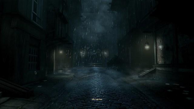 Bioshock Infinite rain