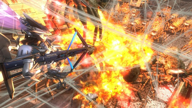 Earth Defense Force 4.1 weapons