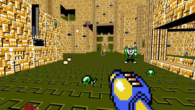 Mega Man 8-Bit Deathmatch fight
