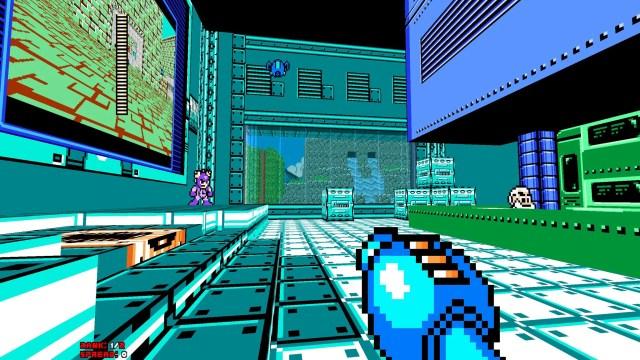 Mega Man 8-Bit Deathmatch overworld