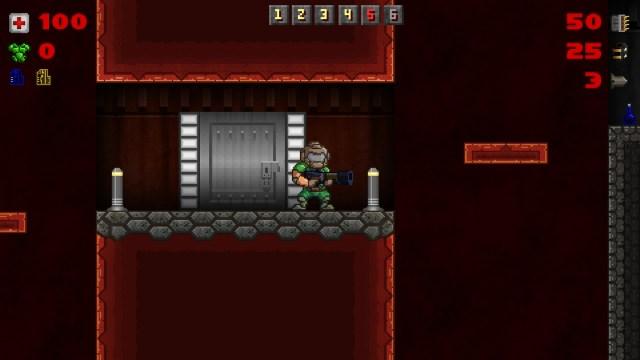 MiniDoom Door