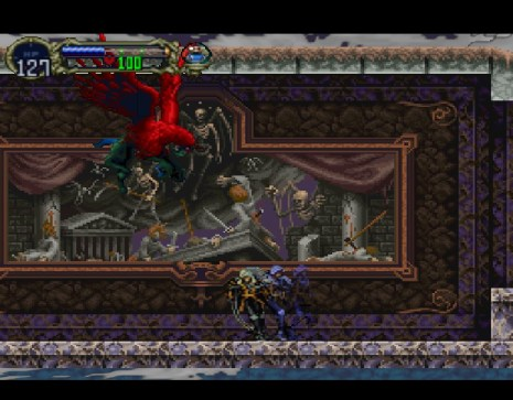 Castlevania Symphony of the Night Fight