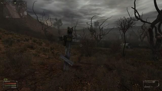 Stalker Shadow of Chernobyl Grave