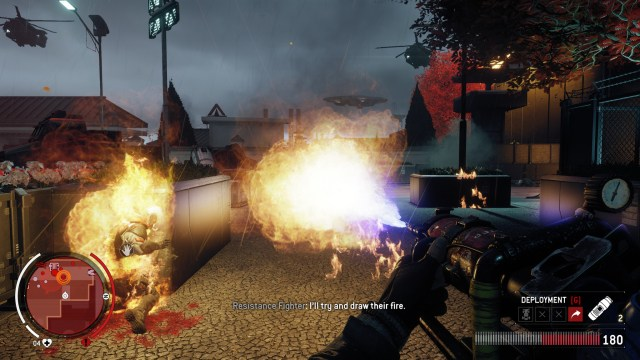 Homefront The Revolution Flamethrower