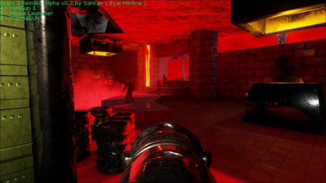 Doom 2 Remake Barrels