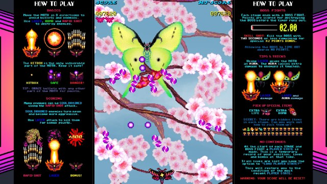 Space Moth DX Butterfly