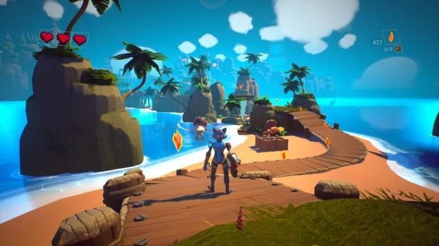 Skylar and Plux Adventure on Clover Island Start