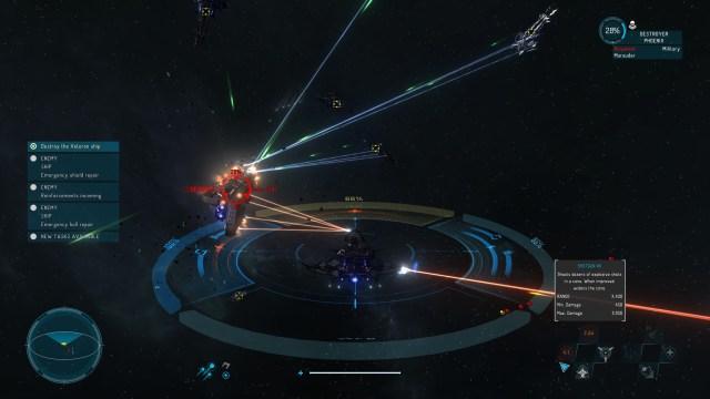Starpoint Gemini Warlords Laser Beam