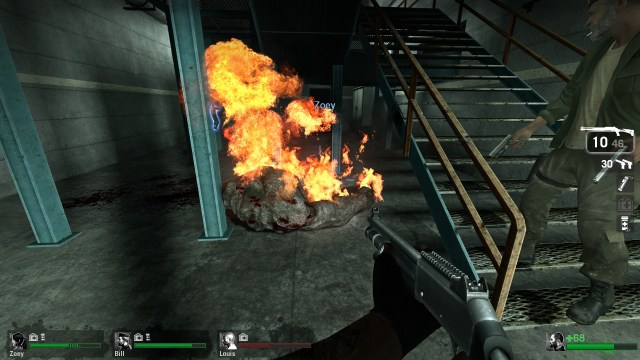 Left 4 Dead Fire Tank