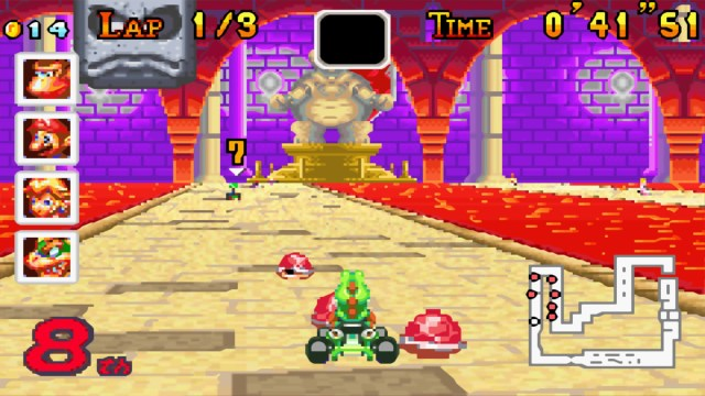 Mario Kart Super Circuit Red Shell