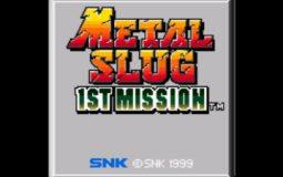 Metal Slug The First Mission