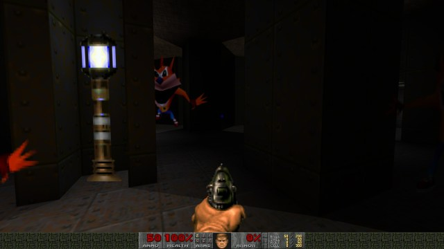 Doom Crash Bandicoot Spooky
