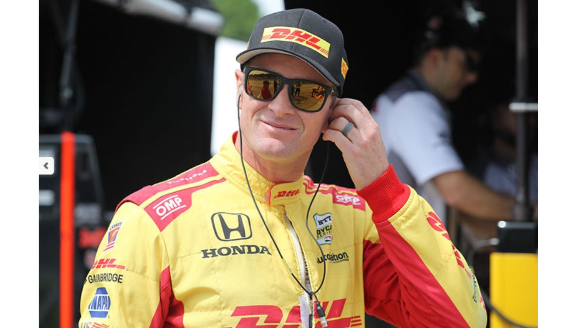 Ryan Hunter-Reay IndyCar Driver