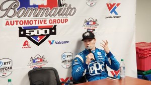 Josef Newgarden - Gateway Post Race