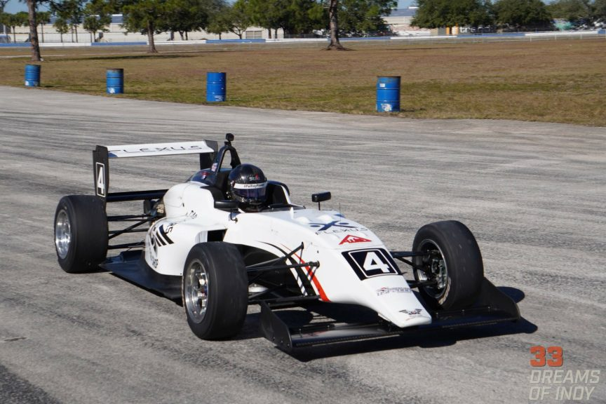 Josh Green looks to back up his Team USA Scholarship award with a title run in USF2000 in 2020.