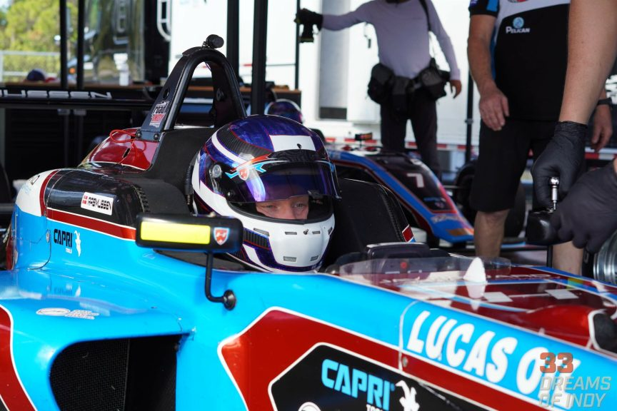 Christian Rasmussen returns to USF2000 in 2020 with his eyes on a title bid with Jay Howard Driver Development