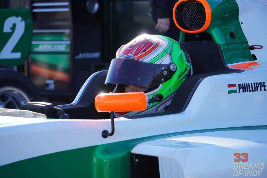Phillipe Denes - Winter Testing 2019 - Juncos Racing
